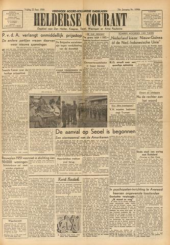 Heldersche Courant 1950-09-22