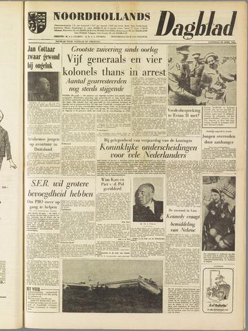 Noordhollands Dagblad : dagblad voor Alkmaar en omgeving 1961-04-29