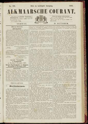 Alkmaarsche Courant 1881-10-28