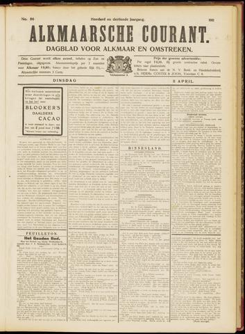 Alkmaarsche Courant 1911-04-11