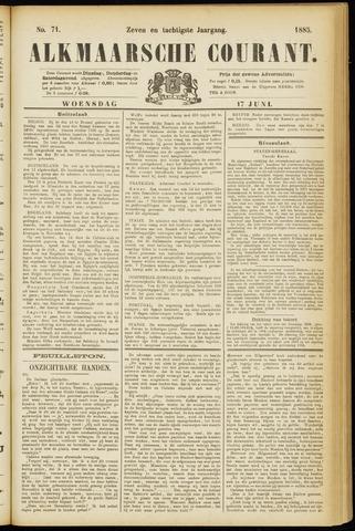 Alkmaarsche Courant 1885-06-17