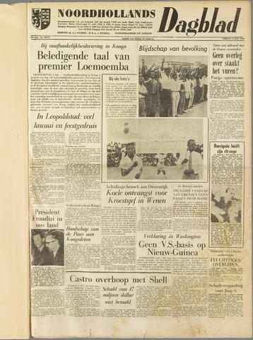 Noordhollands Dagblad : dagblad voor Alkmaar en omgeving 1960-07-01