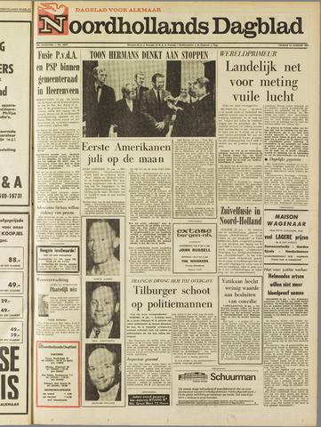 Noordhollands Dagblad : dagblad voor Alkmaar en omgeving 1969-01-10