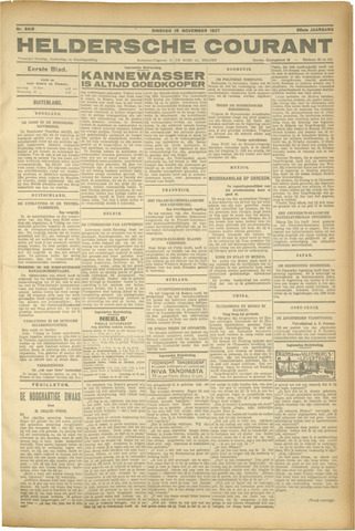 Heldersche Courant 1927-11-15