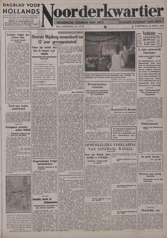 Dagblad voor Hollands Noorderkwartier 1942-04-22