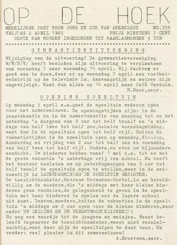 Op De Hoek, weekblad voor Akersloot 1965-04-02