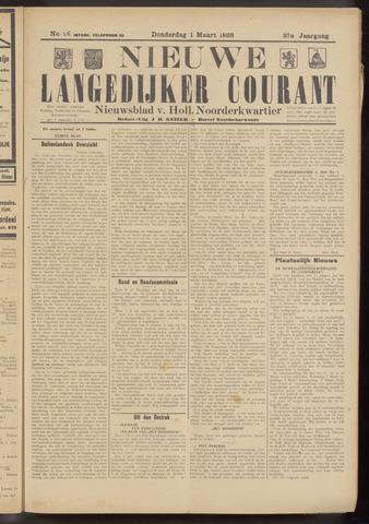 Nieuwe Langedijker Courant 1928-03-01