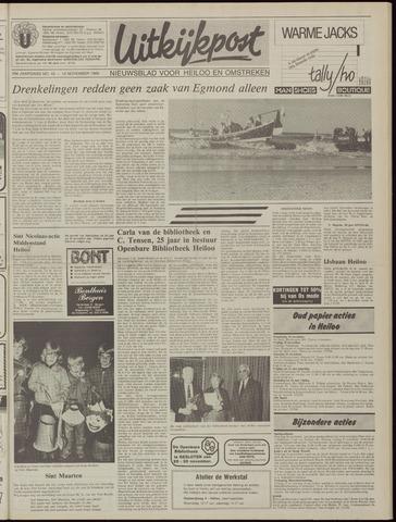Uitkijkpost : nieuwsblad voor Heiloo e.o. 1985-11-13