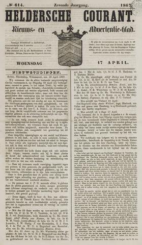 Heldersche Courant 1867-04-17