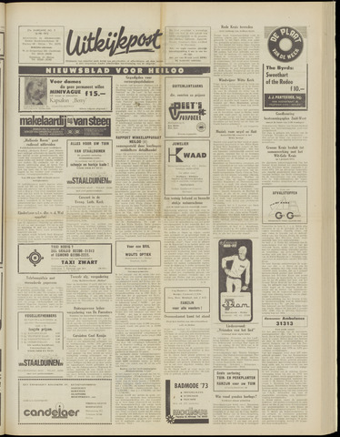 Uitkijkpost : nieuwsblad voor Heiloo e.o. 1973-05-16