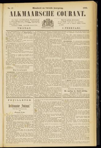 Alkmaarsche Courant 1900-02-09