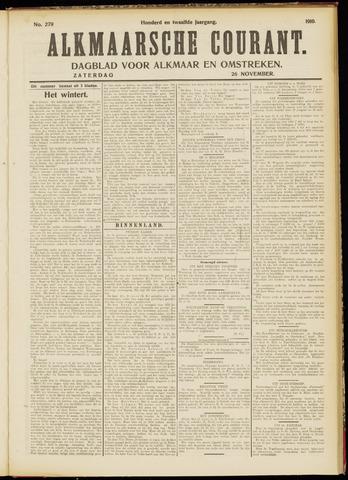 Alkmaarsche Courant 1910-11-26
