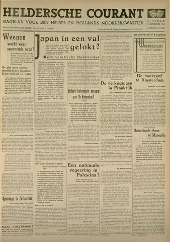 Heldersche Courant 1938-11-01