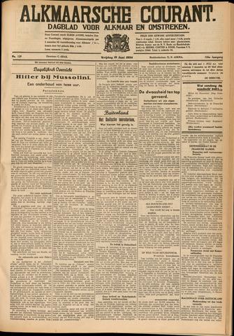Alkmaarsche Courant 1934-06-15