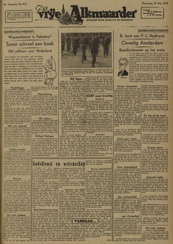 De Vrije Alkmaarder 1947-05-21