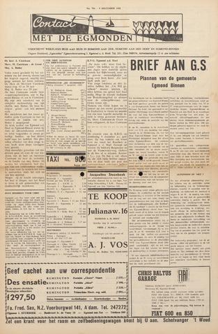 Contact met de Egmonden 1965-12-09