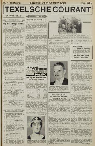 Texelsche Courant 1938-11-26
