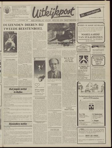 Uitkijkpost : nieuwsblad voor Heiloo e.o. 1986-11-12