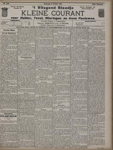 Vliegend blaadje : nieuws- en advertentiebode voor Den Helder 1908-10-31