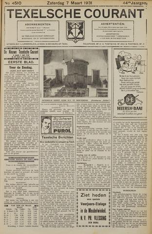 Texelsche Courant 1931-03-07
