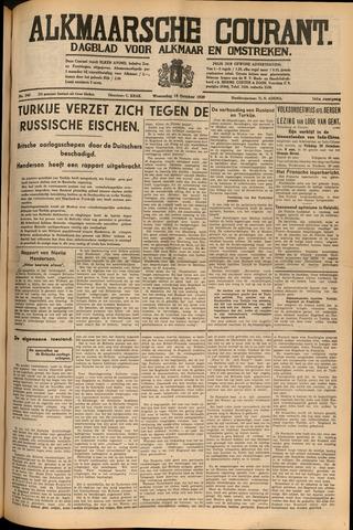 Alkmaarsche Courant 1939-10-18