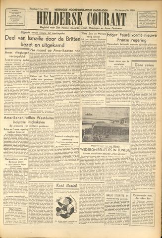 Heldersche Courant 1952-01-22