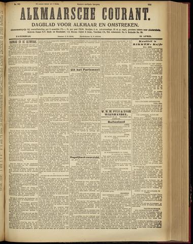 Alkmaarsche Courant 1928-04-21