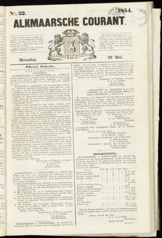 Alkmaarsche Courant 1854-05-29