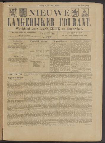Nieuwe Langedijker Courant 1896-01-05