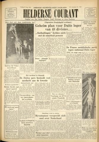 Heldersche Courant 1954-08-27