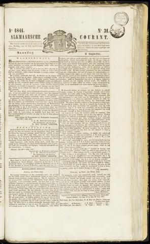 Alkmaarsche Courant 1841-08-02