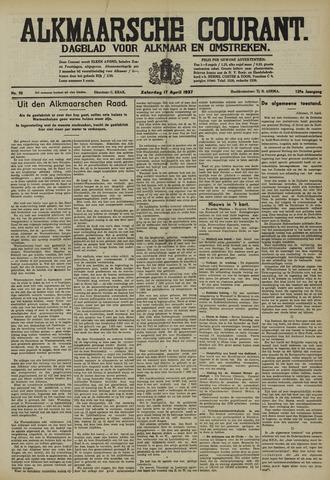 Alkmaarsche Courant 1937-04-17