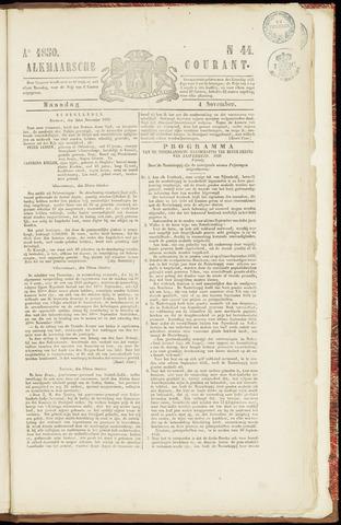Alkmaarsche Courant 1850-11-04