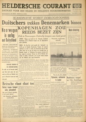 Heldersche Courant 1940-04-09