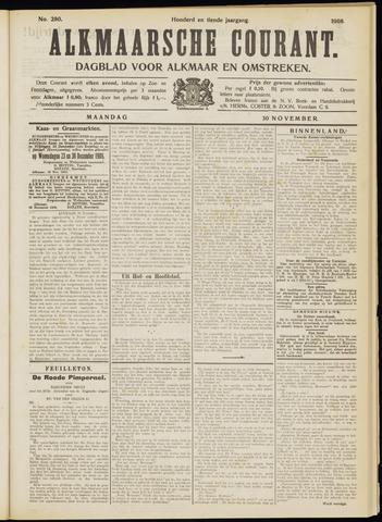 Alkmaarsche Courant 1908-11-30