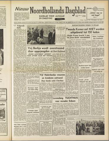 Nieuw Noordhollandsch Dagblad : voor Alkmaar en omgeving 1952-08-01