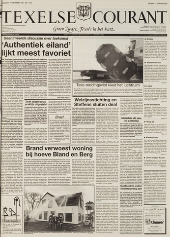 Texelsche Courant 2000-02-11