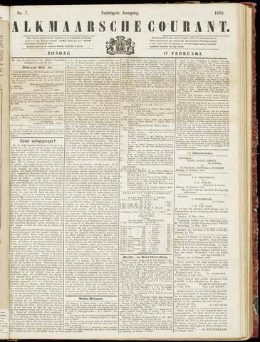 Alkmaarsche Courant 1878-02-17
