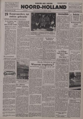 Dagblad Noord-Holland, Schager editie 1942-09-25