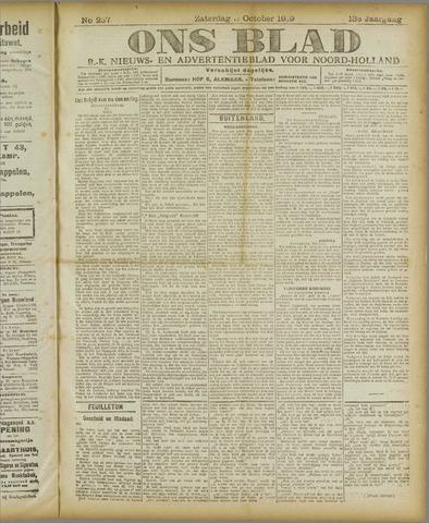 Ons Blad : katholiek nieuwsblad voor N-H 1919-10-04