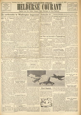Heldersche Courant 1949-09-08
