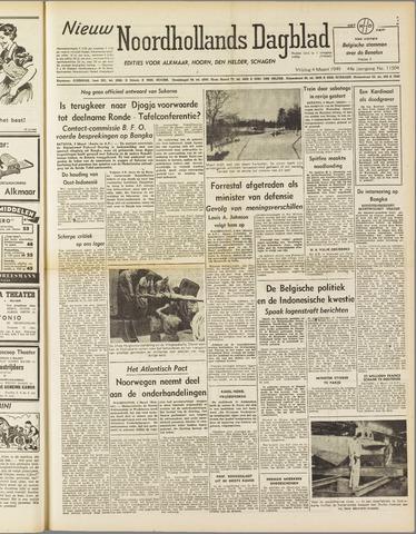 Nieuw Noordhollandsch Dagblad : voor Alkmaar en omgeving 1949-03-04
