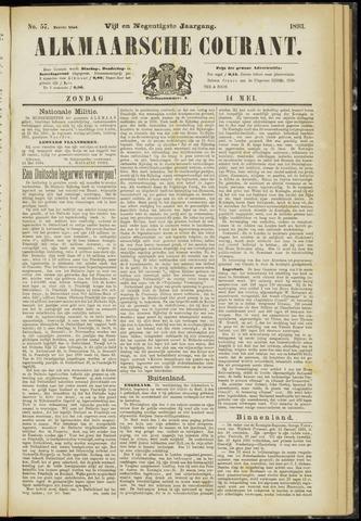 Alkmaarsche Courant 1893-05-14