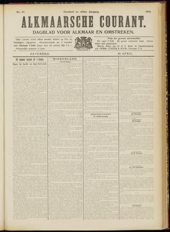 Alkmaarsche Courant 1909-04-24