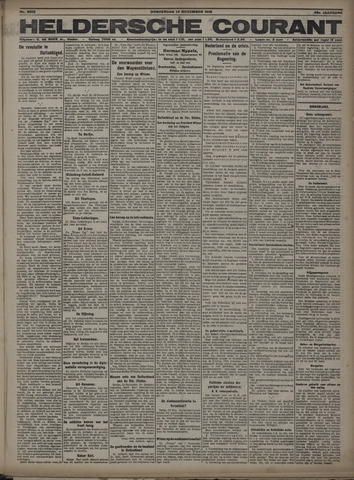 Heldersche Courant 1918-11-14