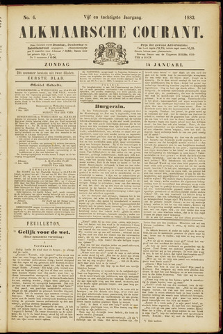 Alkmaarsche Courant 1883-01-14