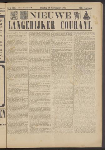Nieuwe Langedijker Courant 1924-09-16