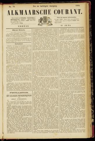 Alkmaarsche Courant 1884-06-13