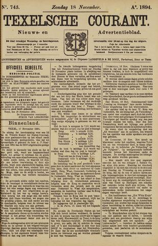 Texelsche Courant 1894-11-18
