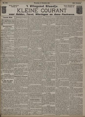Vliegend blaadje : nieuws- en advertentiebode voor Den Helder 1908-12-16